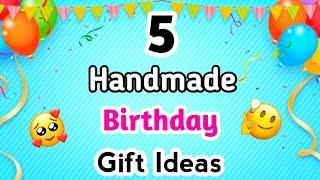 5 Easy handmade birthday gift ideas / Birthday gift ideas / Birthday Gifts 2020 / Handmade Gift idea