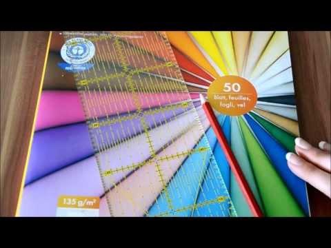 D.I.Y. Anleitung - Buchecken aus Tonpapier herstellen