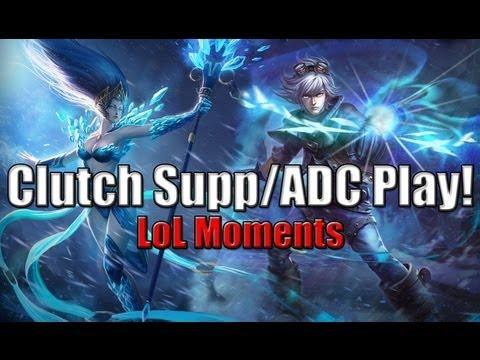 LoL Moments最佳ADC/SUP配合   英雄聯盟