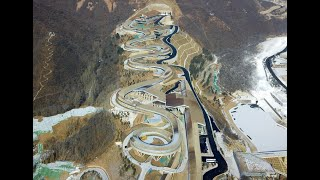 Tour Beijing 2022 Winter Olympics venue before one-year countdown