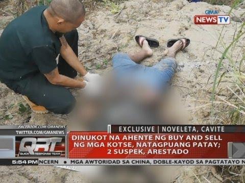 [GMA]  QRT: Dinukot na ahente ng buy and sell ng mga kotse, natagpuang patay