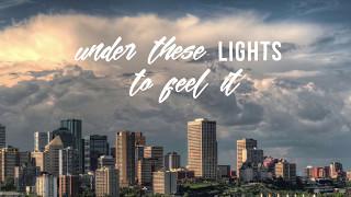Lights Lyric Video   J  Allan Baumann Ft  Aaron Gillespie