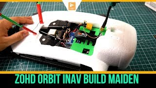 ZOHD ORBIT Wing (Sonicmodell): Setup, 18650 batteries talk and