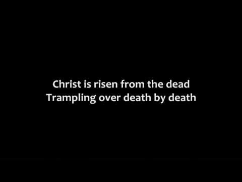 Christ Is Risen - Youtube Lyric Video