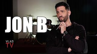 Jon B on Initially Being Threatened by Robin Thicke, People Always Comparing Them (Part 9)