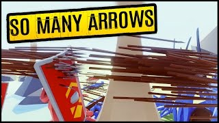 Totally Accurate Battle Simulator • SO MANY ARROWS! Finishing The New Campaign Levels