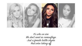 Little Mix - Salute (Lyrics + Parts on Screen)