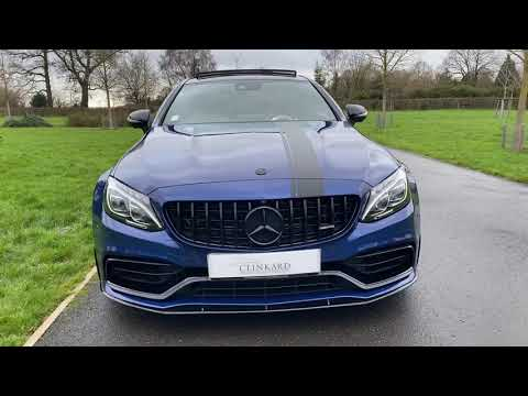 Mercedes C63S Coupe Edition 1 Video
