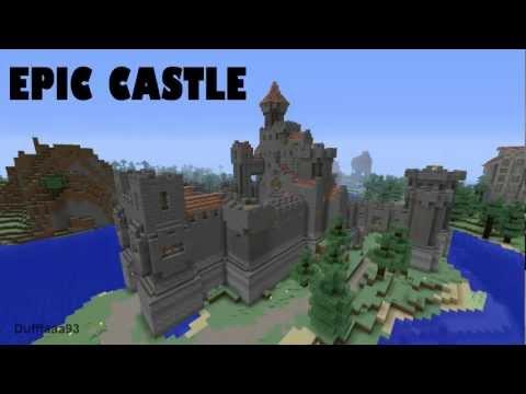 Epic Minecraft Castle + DOWNLOAD