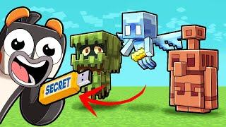 Secret World of NEW Minecraft Mobs! (Allay, Glare, Copper Golem)