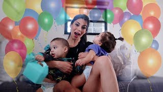 PREPARING FOR THE TWINS 1ST BIRTHDAY PARTY!!! **BIGGEST PARTY EVER!**