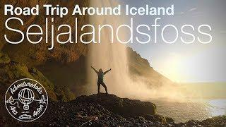 Epic Seljalandsfoss Waterfall at Sunset | Iceland Road Trip | Adventureholix | S1:E8