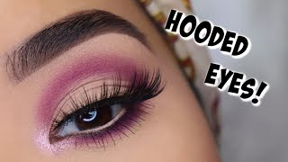 EASY Eyeshadows For HOODED EYES! | Beginners