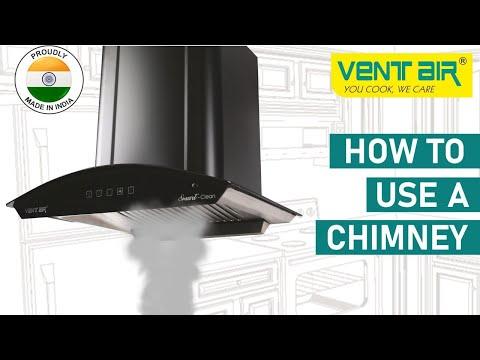 ELANZA DLX Ventair Kitchen Chimney