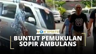 Pengemudi yang Memukul Sopir Ambulans Ditetapkan sebagai Tersangka