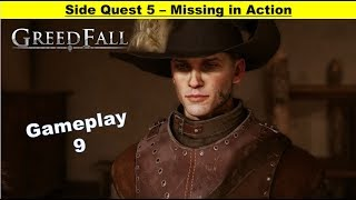 Greedfall - Missing in Action - Find Young Recruit - Find Evidence - Investigate Tavern