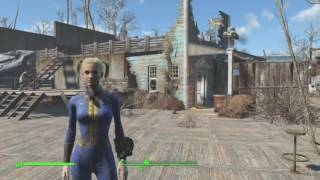 Fallout 4 Coastal Cottage Settlement No Mods WITH COMMENTARY