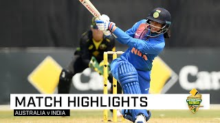 India leave Australia stunned with run-chase perfection   CommBank T20 INTL Tri-Series