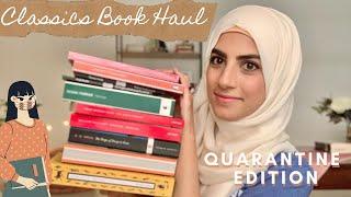 Quarantine Edition ⚠️ Classics Book Haul XIII