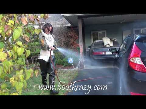 Bootkrazy Sexy Boot Videos: Car-wash Waders