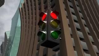 Добрый короткометражный мультфильм про светофоры