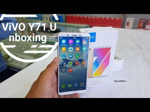 Vivo Y71 Full view Display with (Sd 425 ) Redmi 5 killer (Unboxing)