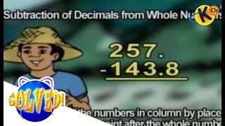 Subtraction of Decimals and Decimals from Whole Number