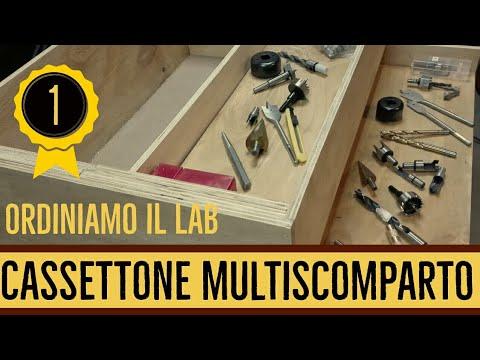 Ordiniamo il lab - Cassettone multiscomparto  #1