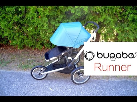 New! Bugaboo Runner Jogging stroller review