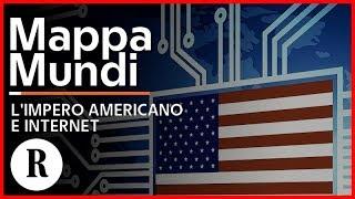 L'impero americano e Internet, come gli Usa controllano la Rete - Mappamundi