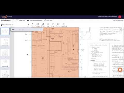 , title : 'How to do your Drywall Takeoff and Estimate. FAST