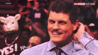 mv • the one thing; Cody Rhodes