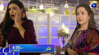 Fitoor   Hiba Bukhari  Episode 28    Har Pal Geo Dramas   Teaser   Promo   Review