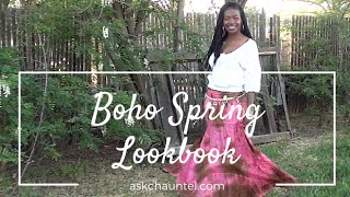 Modest Mom Fashion - Conservative Boho Fashion - Hippie Mom Lookbook