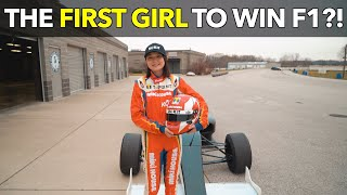 The First Girl to Win F1?!