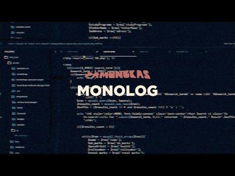 download lagu mp3 mp4 Pamungkas - Monolog, download lagu Pamungkas - Monolog gratis, unduh video klip Pamungkas - Monolog