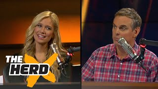 Cowherd: The '95-96 Bulls were the best team I've ever seen | THE HERD - Video Youtube