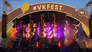 VK FEST 2017. 4K. Второй день. 16.07.17. Radodar TV