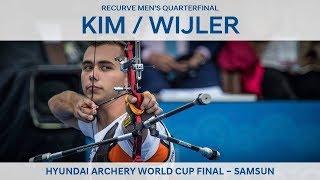 Kim Woojin v Steve Wijler – recurve men's quarterfinal   Samsun 2018