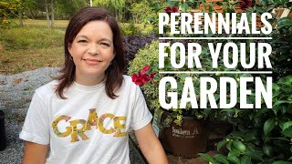 Perennials for Your Garden // Gardening with Creekside
