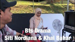 Bts drama Satukan Rasa Siti Nordiana & Khai Bahar