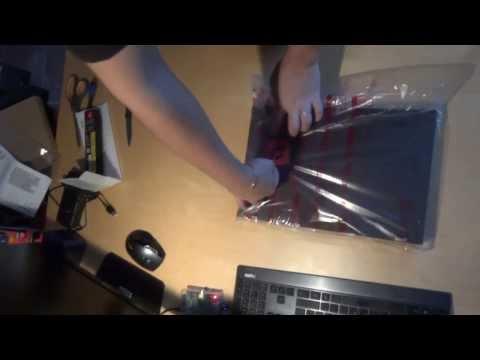 [Unboxing] Lenovo Thinkpad T540P - 20BFS05L00