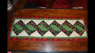 EPISODE 64 ~ Easy Quilted Table Runner