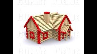 How to make Matchstick House