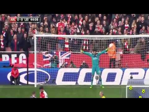 Arsenal vs Leicester City 2-1 All Goals & Highlights Match 14 02 2016
