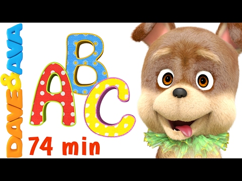 📚 Learn ABCs, Colors, Numbers and More! | Preschool Songs Collection from Dave and Ava 📚