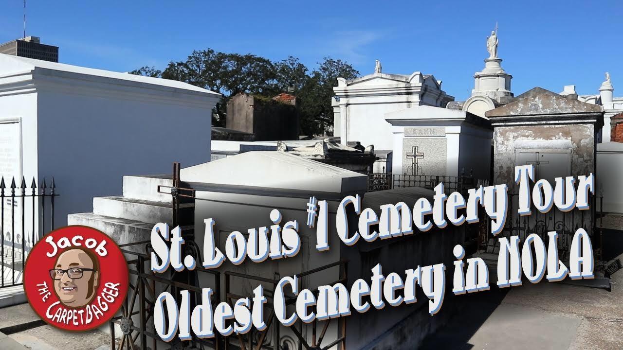 Take a tour through St. Louis Cemetery No.1