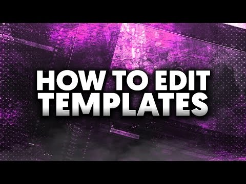How To: Edit Templates in Adobe After Effects CC