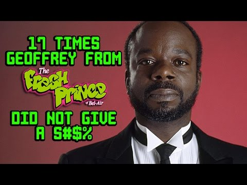 "17 Times Geoffrey From ""Fresh Prince of Bel Air"" Did Not Give A S#$%"