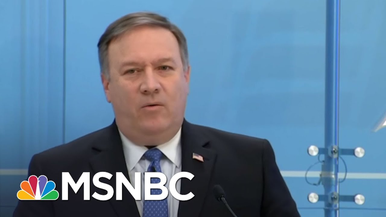 "Rpt: Mike Pompeo Met With Kim Jong Un In ""Top-Secret"" Visit 
